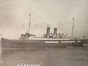 TSS Manxman (1904) - Manxman