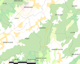 Map commune FR insee code 74053.png