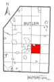 Map of Summit Township, Butler County, Pennsylvania Highlighted.png