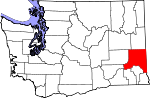 Map of Washington highlighting Whitman County.svg