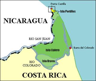 Isla Calero island in Costa Rica