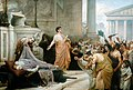 Marc Antony's Oration at Caesar's Funeral by George Edward Robertson.jpg