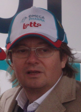 Marc Coucke als sponsor van Omega Pharma-Lotto in februari 2010