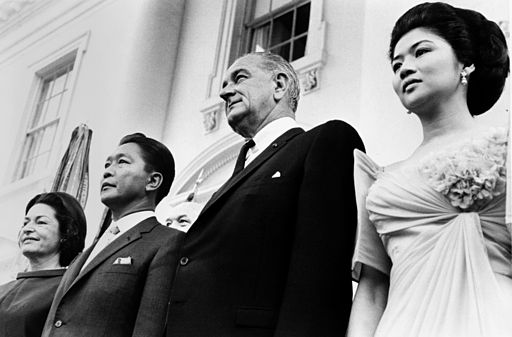Marcos visit Johnson 1966