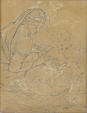 Virgin and Child with Saint John