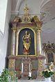 Maria mit Jesuskind - Seitenaltar in St. Philippus und Jacobus in Daglfing.jpg