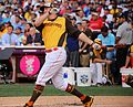 Mark Trumbo competes in semifinals of '16 T-Mobile -HRDerby. (28285836830).jpg