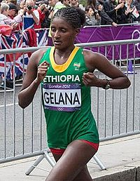 Mary Keitany, Tiki Gelana and Priscah Jeptoo - 2012 Olympic Womens Marathon-2.jpg