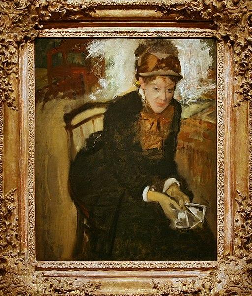 """""""Mary Cassatt"""" by Edgar Degas"""