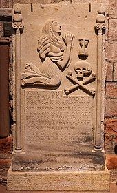 Mary Young monument, St Magnus Cathedral, Kirkwall