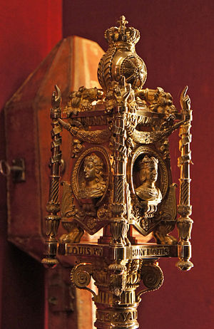 Ceremonial mace - Head of a French ceremonial mace, 18th century