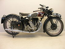 Matchless G90 Super Clubman 500 cc uit 1939
