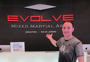 Matt Hume - Image: Matt Hume at Evolve MMA in Singapore