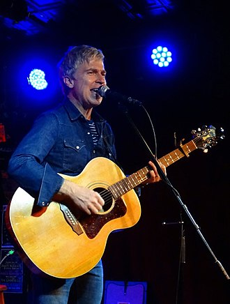 The Saint (music venue) - Nada Surf's Matthew Caws performing an acoustic show at The Saint in Asbury Park, NJ in October 2017.
