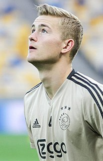 Matthijs de Ligt Dutch association football player