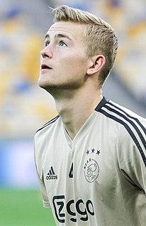 Matthijs de Ligt Dutch footballer