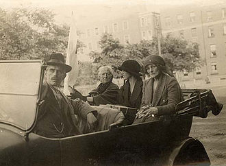 Maud Gonne - Maud Gonne (far right) with relief agency members in Dublin in July 1922