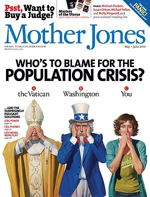 Cover of the May/June 2010 issue of Mother Jon...