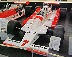 McLaren M28 - John Watson's M28 now housed at the Donington Grand Prix Collection.