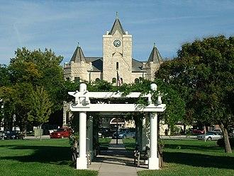 McPherson County Courthouse (Kansas) - Image: Mc Pherson County Courthouse