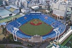 Meiji Jingu Stadium aerial view.jpg