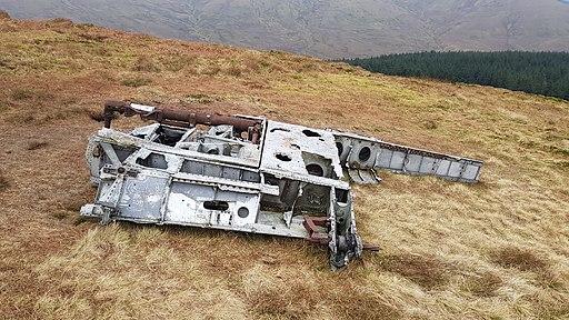 Meikle Bin wreckage 1