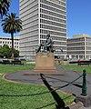 Melbourne Spring Street - Adam Lindsay Gordon Statue (1833-1870).jpg