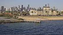 Melbourne seen from the Spirit of Tasmania.jpg