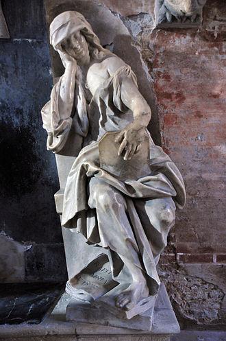 "Melchior Barthel - ""Melancholy"" at Santi Giovanni e Paolo, Venice"