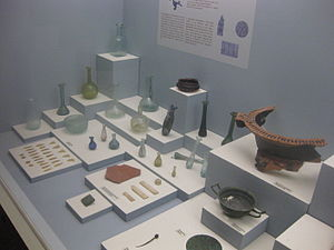 Cephalonia - Excavations from Melissani in the Archaeological Museum of Argostoli