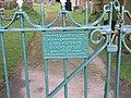 Memorial Gate at Dolfor church - geograph.org.uk - 1582110.jpg
