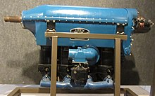"Menasco C-4 ""Pirate engine""."