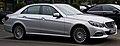 Mercedes-Benz E 220 CDI Elegance (W 212, Facelift) – Frontansicht (1), 30. August 2014, Düsseldorf.jpg