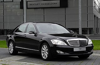 Mercedes-Benz S-Class (W221) German luxury sedan