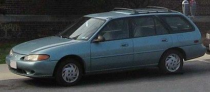 mercury tracer gs station wagon