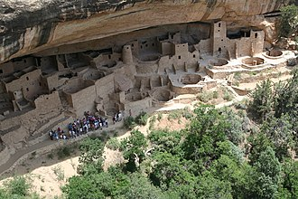 U.S. Route 491 - Image: Mesa Verde National Park Cliff Palace