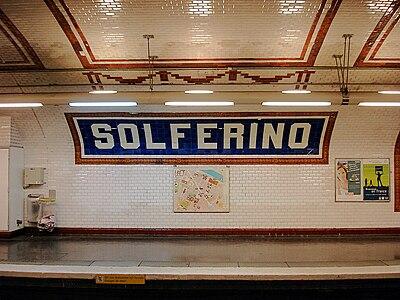 Solférino (Métro Paris)