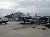 MiG-29K ĉe MAKS-2011-airshow.jpg