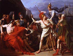 Michel Martin Drolling - Image: Michel Martin Drolling La colère d'Achille