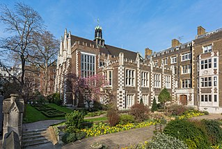 Middle Temple one of the four Inns of Court in London, England