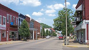 2nd Avenue in Downtown Middleport