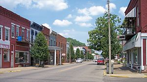 Middleport, Ohio - North 2nd Avenue in downtown Middleport in 2007