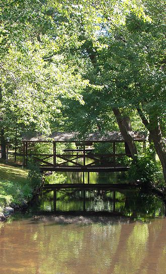 Middlesex Canal - Image: Middlesex Canal, Wilmington, Massachusetts
