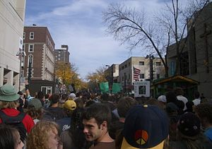 Great Midwest Marijuana Harvest Festival - The event in 2006