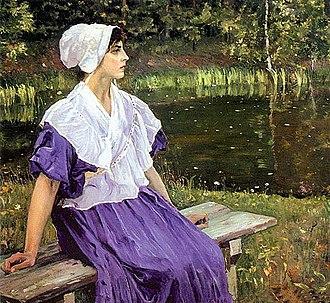 1923 in art - Image: Mikhail Nesterov 055