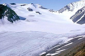 Sarek National Park - The glacier Mikka on Sarektjåkkå