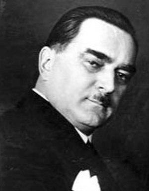 Yugoslavian parliamentary election, 1938 - Image: Milan Stojadinovic facingright