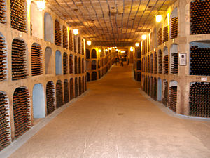 Moldovan wine - Mileștii Mici – the world's largest wine cellars