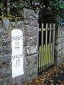 Milestone in Carno - geograph.org.uk - 1041082.jpg