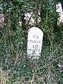 Milestone near Spetisbury - geograph.org.uk - 1657883.jpg